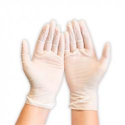 HYGO Safe Fit nitril púdermentes fehér egyszerhasználatos kesztyű 24 cm L 200db/dob