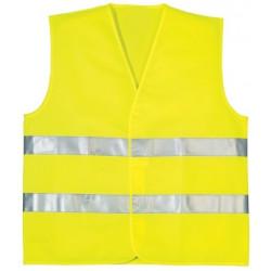 PD jól láthatósági mellény szitázható, sárga XL