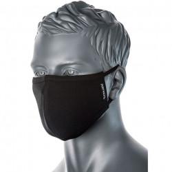 PW kétrétegű mosható antimikrobiális maszk fekete