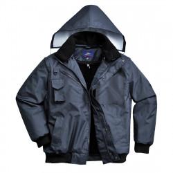 3 az 1-ben bomber kabát Sötétkék XL