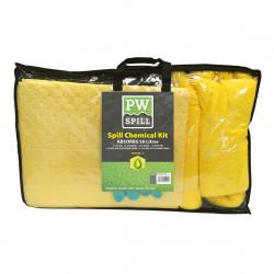50 liter vegyi szorbens készlet Sárga