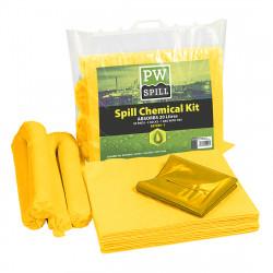20 liter vegyi szorbens készlet Sárga