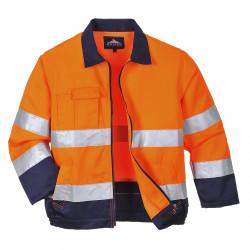 Madrid Hi-Vis kabát Narancs/Kék L