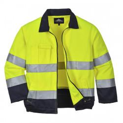 Madrid Hi-Vis kabát Sárga/Kék XXXL