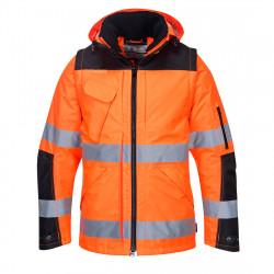 3 az 1-ben kabát Narancs/Fekete L