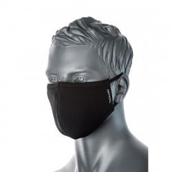 2 rétegű anti-mikrobiális arcmaszk (25db) Fekete