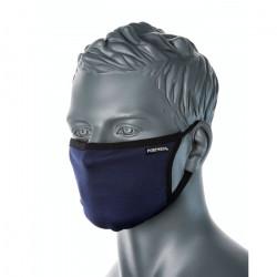 3 rétegű anti-mikrobiális arcmaszk (25db) Sötétkék