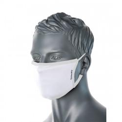 3 rétegű anti-mikrobiális arcmaszk (25db) Fehér