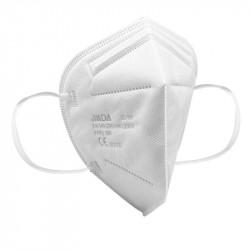 FFP2 NR szelep nélküli maszk egyszerhasználatos