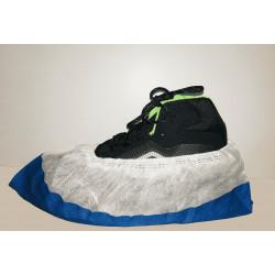 PD Erősített cipővédő csúszásgátló talppal fehér/kék