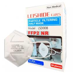 FFP2 NR szelep nélküli minősített egyszerhasználatos maszk