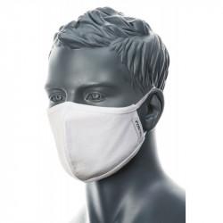 PW CV22 kétrétegű mosható antimikrobiális maszk fehér