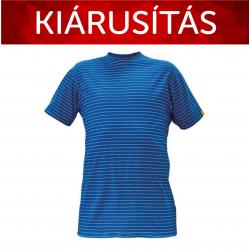 Antisztatikus ESD póló kék 3XL - Készlet erejéig