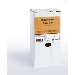 Plum 3963 kézfertőtlenítő gél dobozban 85% 1L