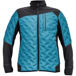 NEURUM SOFTSHELL kabát petrol kék L